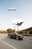 Autostrady i billboardy Obraz Royalty Free
