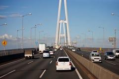 autostrady Japan wiadukt Obrazy Stock