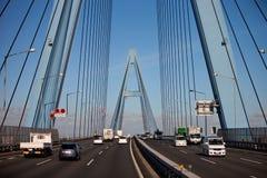 autostrady Japan wiadukt Obraz Stock
