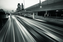 autostrady megacity Zdjęcie Royalty Free