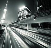autostrady megacity fotografia stock