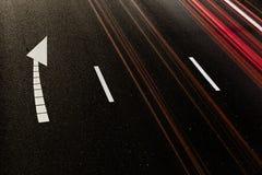 autostrady noc Obraz Stock