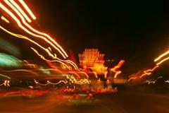 autostrady noc Zdjęcie Royalty Free