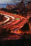 autostrady noc Obrazy Stock