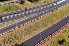 Autostrady omijanie Przez Mhlanga grani w Durban Południowa Afryka Obrazy Stock