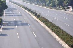 autostrady pasów ruchów ruch drogowy Obraz Stock