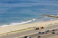 Autostrady plaża Zdjęcia Stock