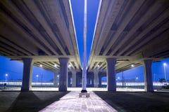 autostrady podwyższony ruch drogowy Fotografia Royalty Free