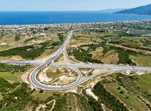 autostrady powietrzny złącze Zdjęcie Royalty Free