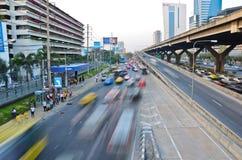 Autostrady prędkości linia - ładunek elektrostatyczny i dynamika fotografia royalty free