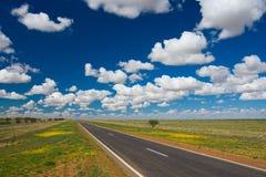 autostrady pustkowia Obrazy Stock