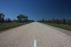 autostrady pustynna droga Zdjęcie Stock