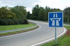 Autostrady rampa Zdjęcie Stock