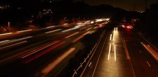Autostrady Ruch drogowy Obrazy Stock