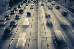 autostrady ruch drogowy Zdjęcia Stock