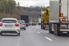 Autostrady sceneria Zdjęcia Stock