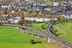 Autostrady skrzyżowanie Obraz Royalty Free