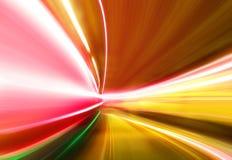 autostrady smarujący światło Zdjęcia Royalty Free