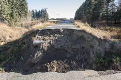 Autostrady spłukiwanie Fotografia Royalty Free