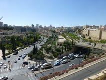 Autostrady w Jerozolima w Izrael obrazy stock
