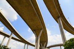 Autostrady wielki skrzyżowanie Zdjęcie Stock