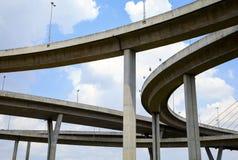 Autostrady wielki skrzyżowanie Fotografia Stock