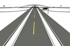 autostrady wymiana royalty ilustracja