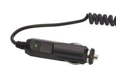 Autostromadapter - Beschneidungspfad Stockfoto