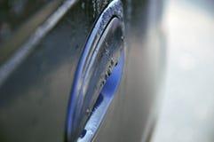 Autotür im Regen Lizenzfreie Stockfotografie