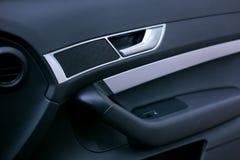 Autotürgriffe und elektrisches Detail, zentrale Blockierung Lizenzfreie Stockfotos