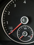 Autotachometer Stockbild