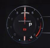 Autotachometer Royalty-vrije Stock Afbeeldingen