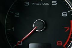 Autotachometer stockbilder