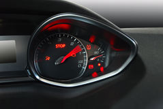 Autotachometer Stock Foto's