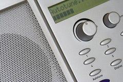autotune轻拍数字式收音机 库存照片