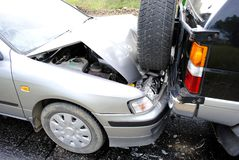 Autounfall Lizenzfreies Stockbild