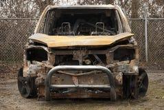 Autounfall Stockfotos