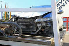 Autounfall Stockbilder