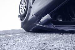 Autounfall, Detail Lizenzfreie Stockbilder