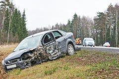 Autounfallunfall Stockfoto