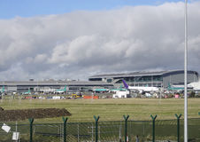 Autour de Dublin Airport Photo libre de droits