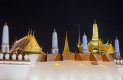 Autour du palais grand, Bangkok, Thaïlande Photo stock