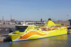 Autoveerboot Royalty-vrije Stock Foto's