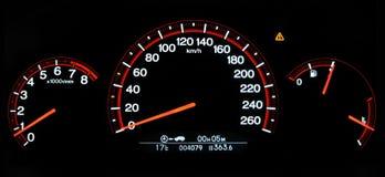 autovehicle测量仪 免版税图库摄影
