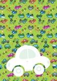 Autovektor glückliches neues Jahr 2007 Lizenzfreies Stockfoto