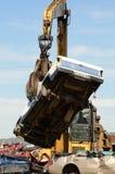 Autoverbrijzeling Stock Foto