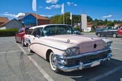 Am autovergadering (buick eeuwcaballero 1958) Stock Foto's