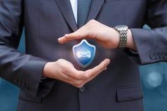 Autoverzekering voor de beste bescherming Stock Foto's
