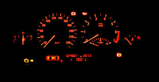 Autovorstand Stockfotos