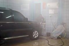 Autowäsche Lizenzfreies Stockbild